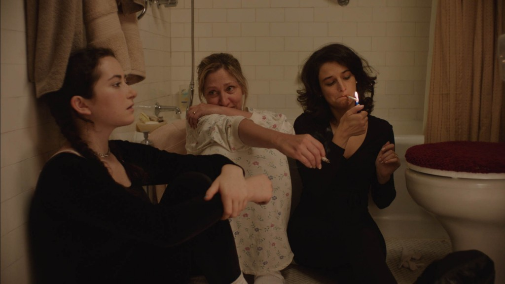 Abby Quinn, Edie Falco and Jenny Slate appear in Landline by Gillian Robespierre, an official selection of the U.S. Dramatic Competition at the 2017 Sundance Film Festival. © 2016 Sundance Institute | photo by Chris Teague.